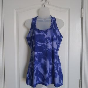 Lukka Athletic tank top M tie dyed racer back